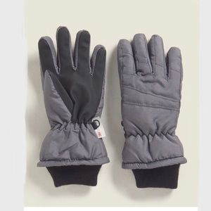 THINSULATE Charcoal Insulated Snow Ski Gloves,8/12